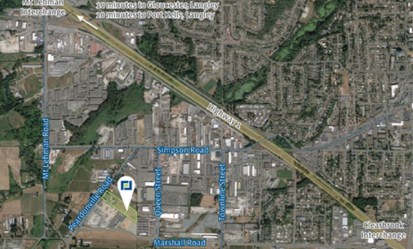 Industrial Development Site in Abbotsford