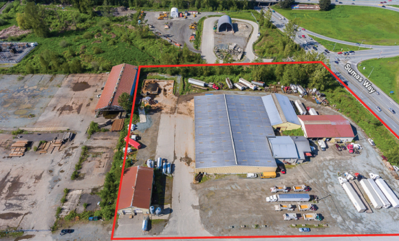 57,000 sf Industrial Building on 5.63 Acres