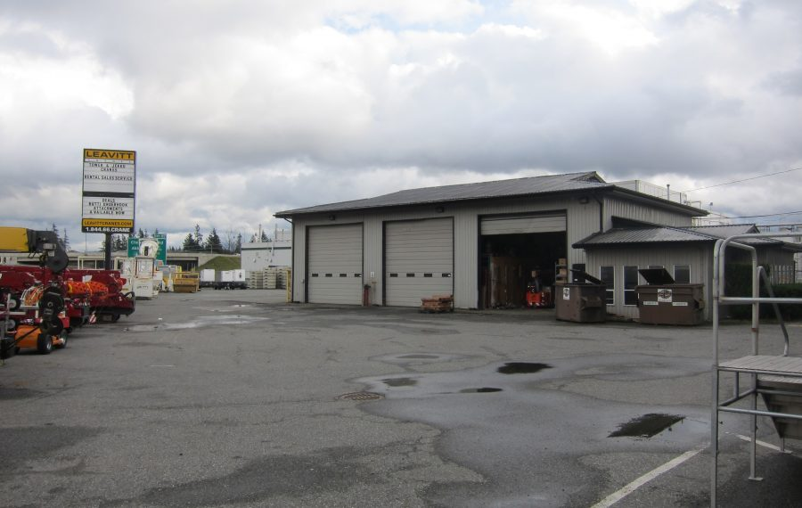 3,800 sf Industrial Building on 0.66 Acre Lot