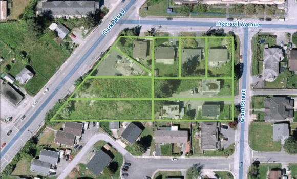Burquitlam Townhouse Development Site
