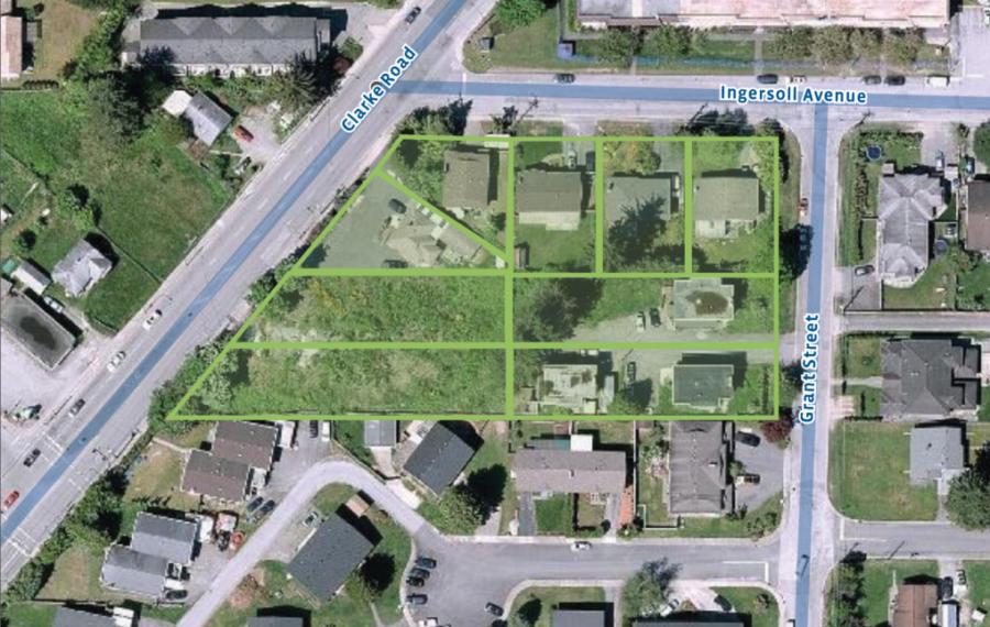 Burquitlam Townhouse Development Site