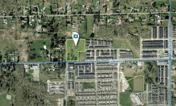5.89 Acre Mixed-Use Development Site in Clayton