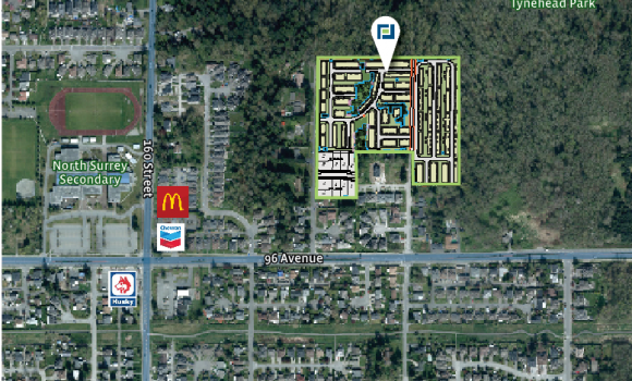 15.58 Acre 3rd Reading Townhome Site in Tynehead