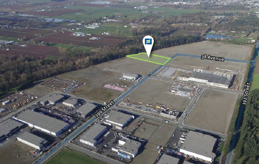 3.73 Acres of Industrial Business Park Land