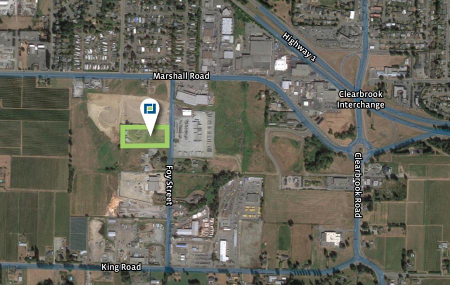 5 Acres of Designated Industrial Land