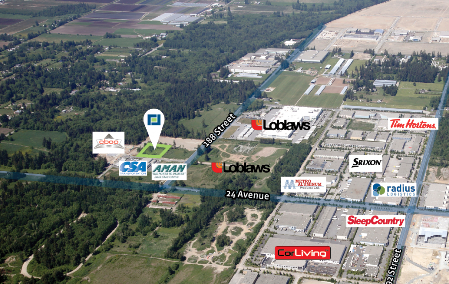 2.08 Acres of Industrial Business Park Land