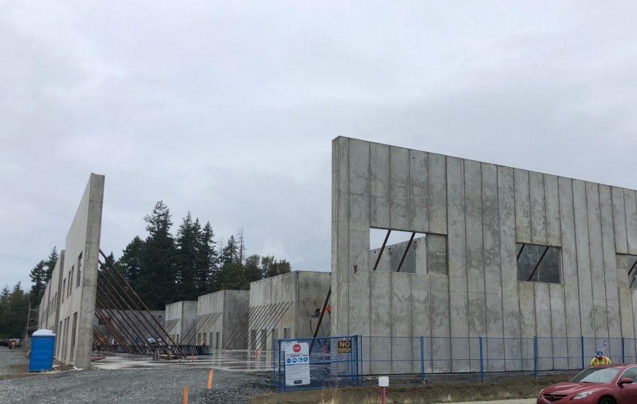 Myles Power Business Park under construction