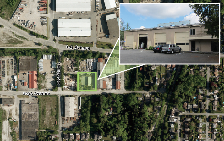 Freestanding Industrial Building in Bridgeview