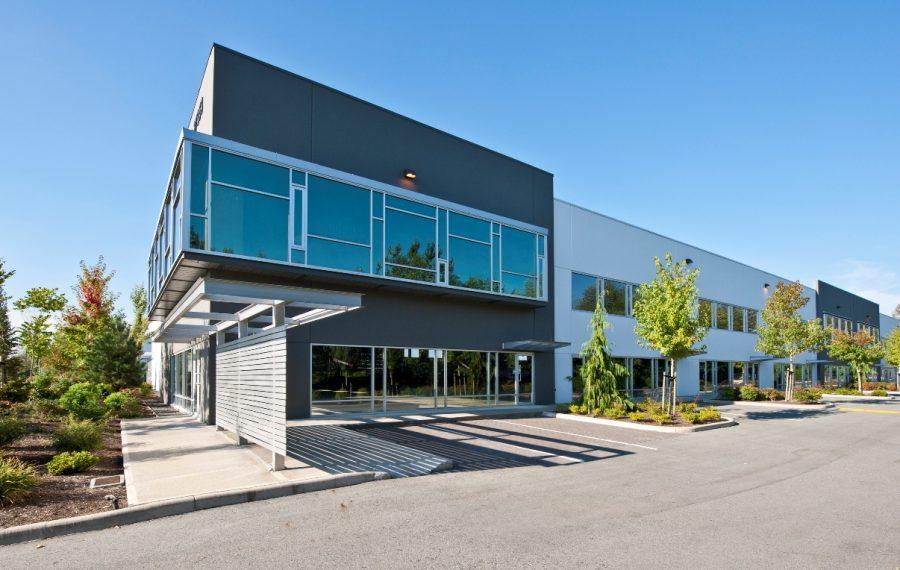 Dock and Grade Loading Warehouse Unit