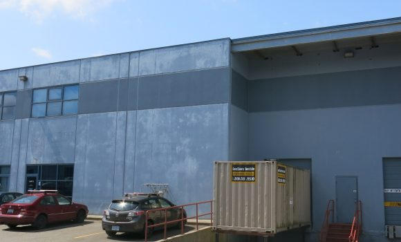 8,158 SF Warehouse With Dock & Grade Loading