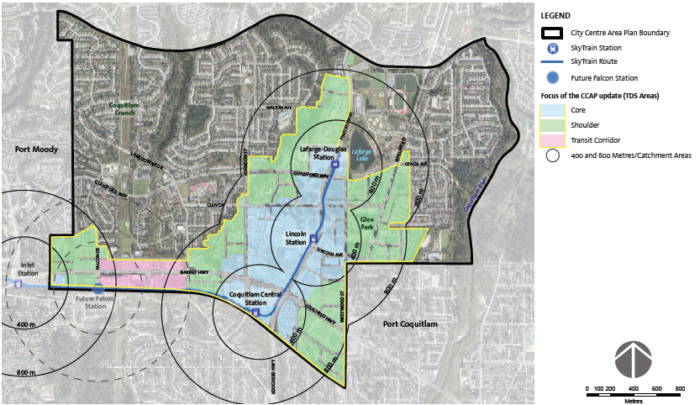 The above map is from the City of Coquitlam's planning and development resources.  It can be found in it's original context at https://www.coquitlam.ca/planning-and-development/resources/special-plans-projects/city-centre-area-plan-update