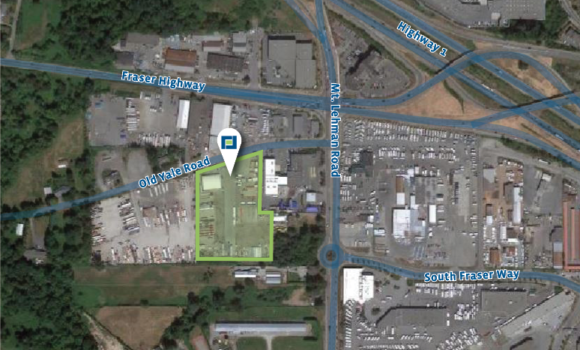10,890 SF of Industrial Yard Space