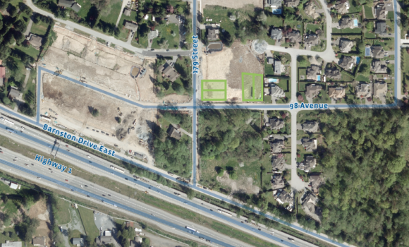 4 Single Family Lots in Surrey's Abbey Ridge