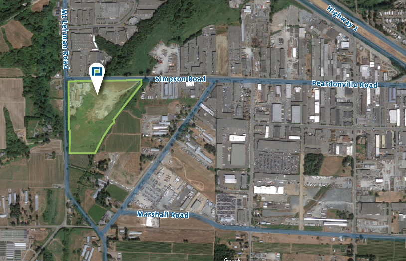 Industrial Development Site in West Abbotsford