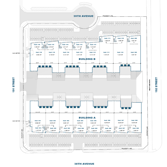 38 Ave Business Centre Site Plan