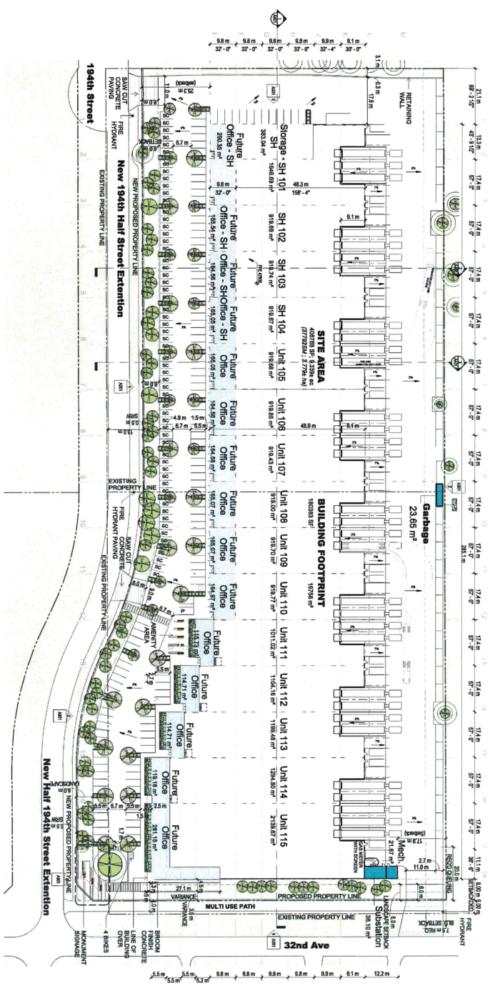 194 Street & 32 Avenue Project Site Plan
