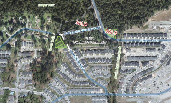 Single Family Lots on Burke Mountain