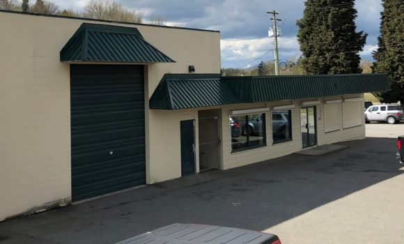 Freestanding Commercial Building in Historic Downtown Abbotsford