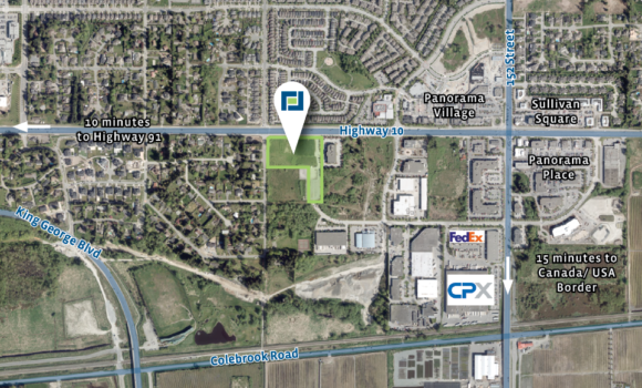 5.95 Acres of Mixed Employment Land