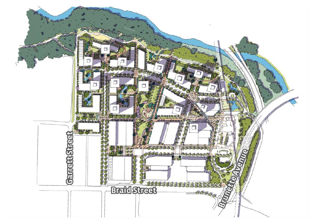 Sapperton Green  illustrative concept plan