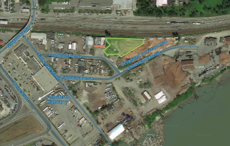 0.82 Acres of Industrial Land in Mission