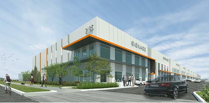 Artist rendering of Mason Corporate Centre