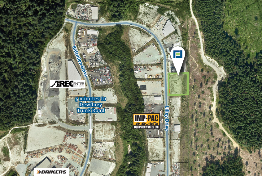 1 Acre Industrial Site in Maple Ridge