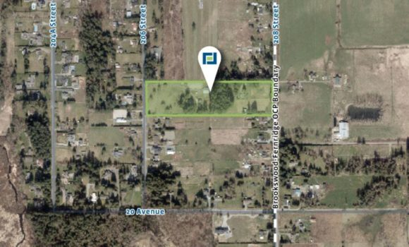 9.69 Acres of Development Land in Brookswood