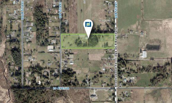 9.69 Acres of Development Land in Brookswood