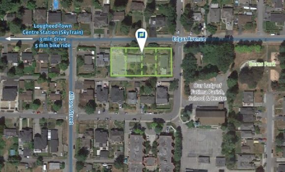 29,440 sf Condo Development Site in Coquitlam
