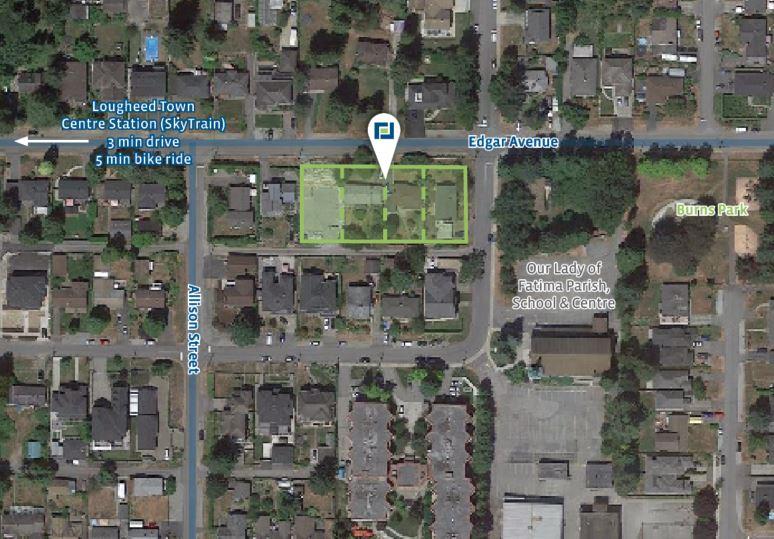29,440 sf Condo Development Site in Coquitlam