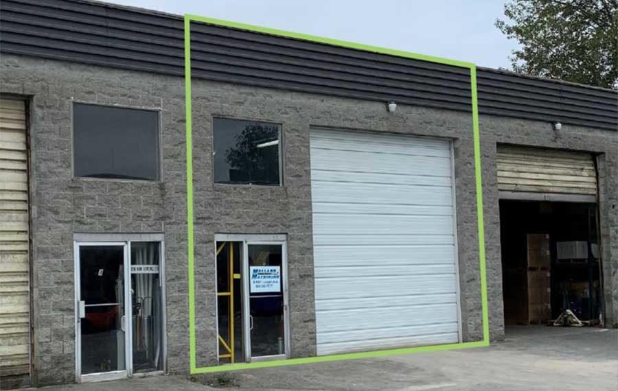 Strata Warehouse with Finished Mezzanine