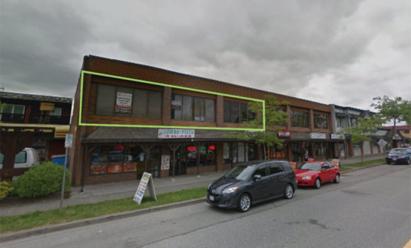 2,243 sf Second Floor Office in Cloverdale