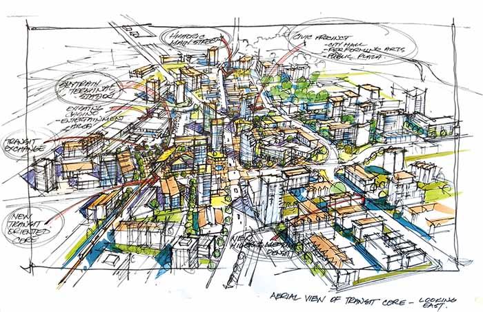Image from Langley City draft OCP